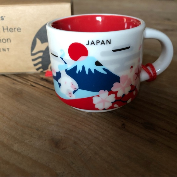 Starbucks You Are Here Japan Ornament NWT